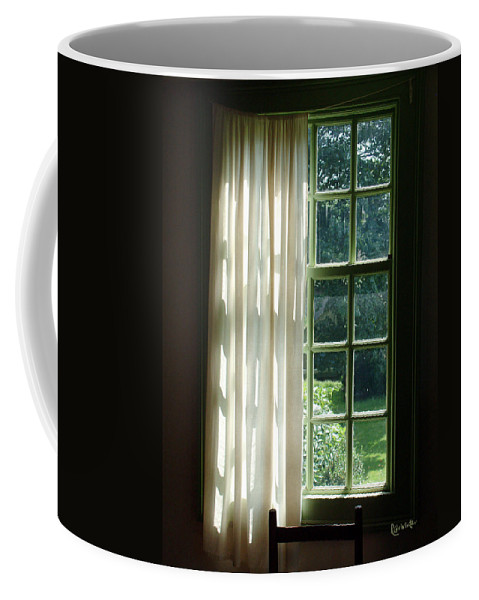 Window Coffee Mug featuring the photograph In The Quiet Of The Afternoon by RC deWinter