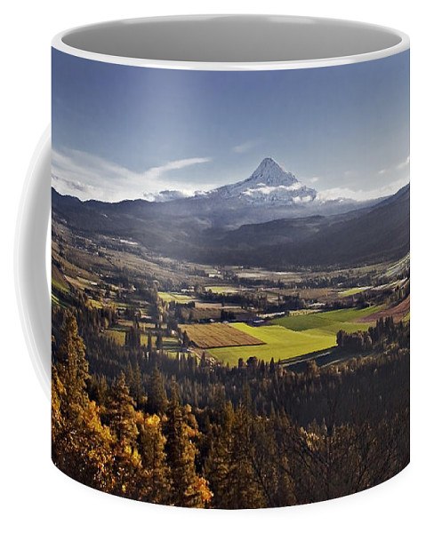 Mt. Hood Coffee Mug featuring the photograph In The Shadow by John Christopher