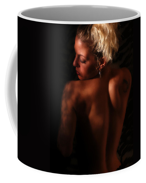 Clay Coffee Mug featuring the photograph In The Shadows by Clayton Bruster