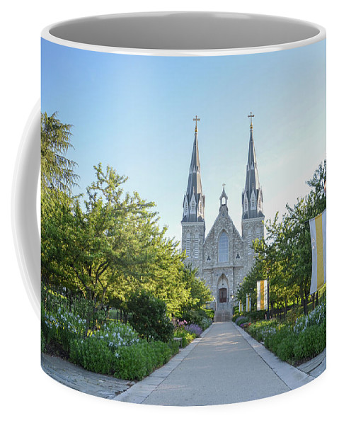 The Coffee Mug featuring the photograph In The Spring At Villanova by Bill Cannon
