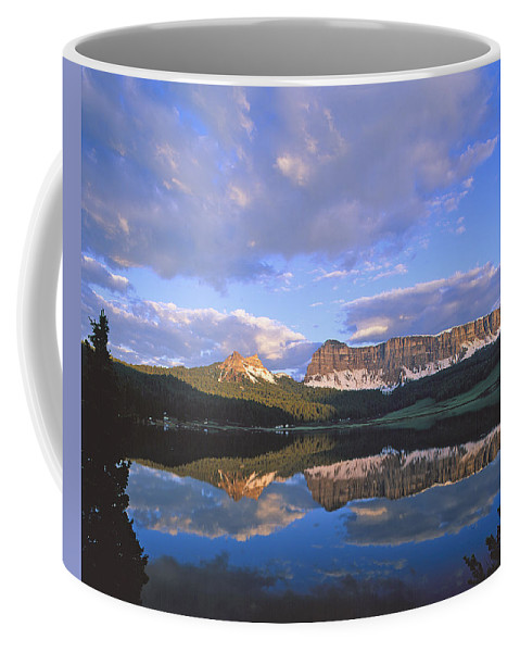 Wind River Coffee Mug featuring the photograph In The Wind River Range. by Robert Ponzoni