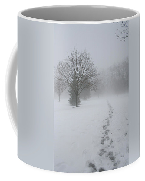 Landscape Coffee Mug featuring the photograph In Their Steps by Dylan Punke