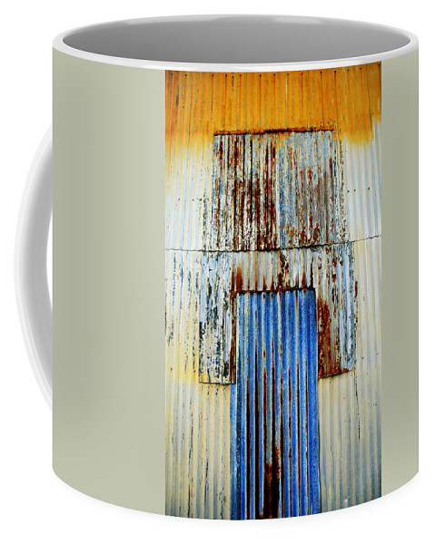 Skip Hunt Coffee Mug featuring the photograph In Through The Out Door by Skip Hunt