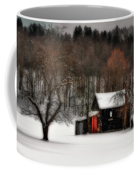 Winter Coffee Mug featuring the photograph In Winter by Lois Bryan