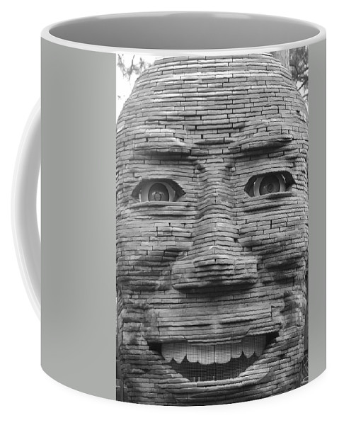 Architecture Coffee Mug featuring the photograph In Your Face by Rob Hans