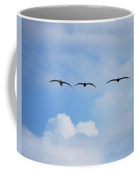 Sky Coffee Mug featuring the photograph Incoming by Adele Moscaritolo