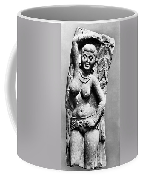 2nd Century Coffee Mug featuring the photograph India: Jain Sculpture by Granger