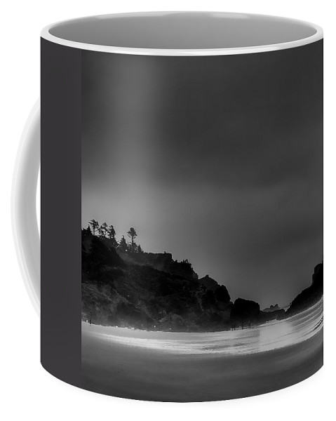 Ecola State Park Coffee Mug featuring the photograph Indian Beach by David Patterson