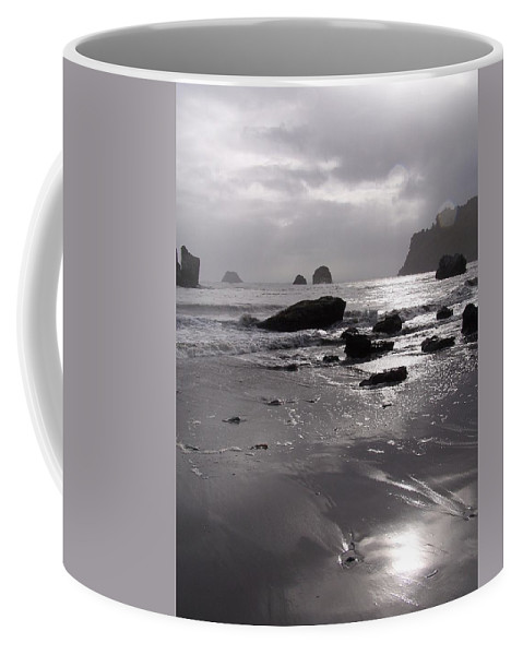 Beach Coffee Mug featuring the photograph Indian Beach by Gale Cochran-Smith