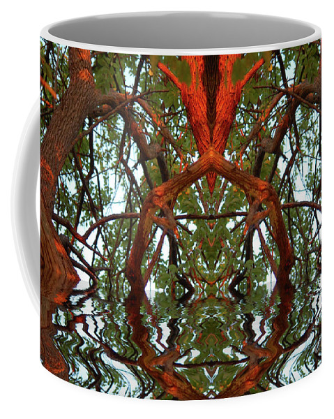 Indian Good Luck Coffee Mug featuring the photograph Indian Good Luck by Wanda-Lynn Searles