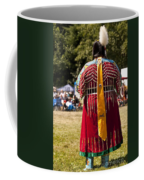 People Coffee Mug featuring the photograph Indian Nation Pow Wow Dancers by Jim Corwin