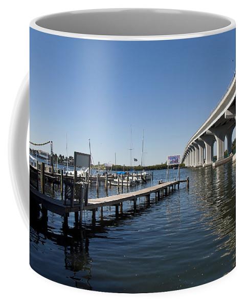 Florida Coffee Mug featuring the photograph Indian River Lagoon At Vero Beach In Florida by Allan Hughes