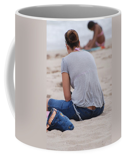 Girl Coffee Mug featuring the photograph Indiana Girl by Rob Hans