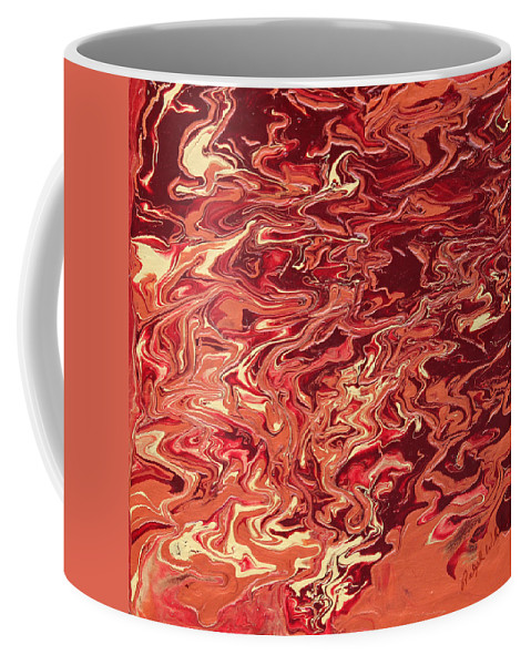 Fusionart Coffee Mug featuring the painting Indulgence by Ralph White