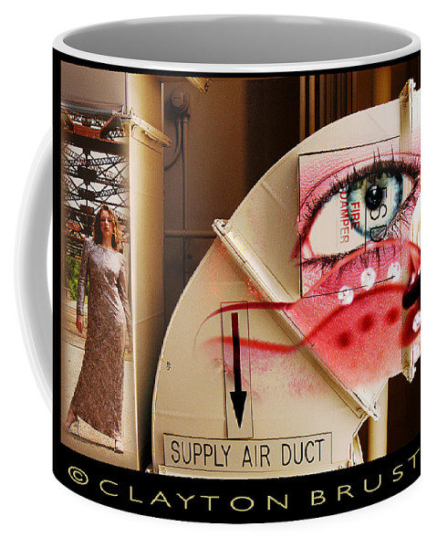 Coffee Mug featuring the photograph Industrial Ceiling Dreams by Clayton Bruster