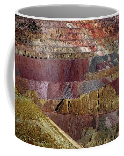 Pelham Art Coffee Mug featuring the photograph Industrial Colorscape by Vicki Pelham