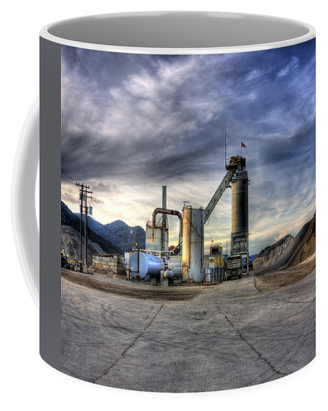 Industrial Landscape Coffee Mug featuring the photograph Industrial Landscape Study Number 1 by Lee Santa