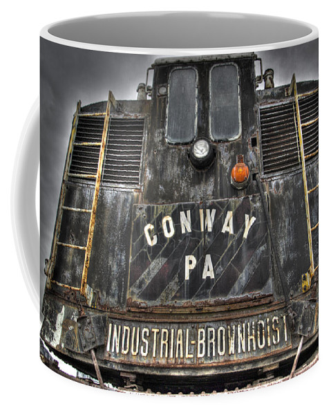 Hdr Coffee Mug featuring the photograph Industrial Workhorse by Scott Wyatt