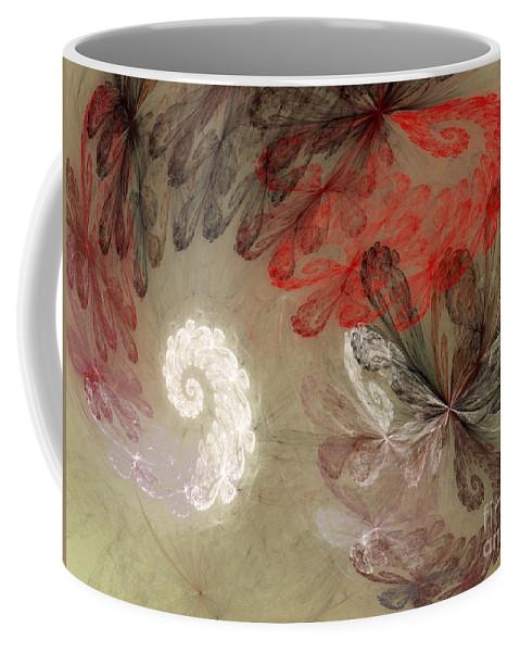 Digital Coffee Mug featuring the digital art Infestation Of The Mind by Deborah Benoit