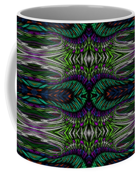 James Smullins Coffee Mug featuring the digital art Infinite Loops by James Smullins
