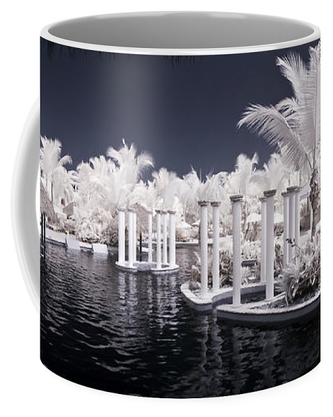 3scape Photos Coffee Mug featuring the photograph Infrared Pool by Adam Romanowicz