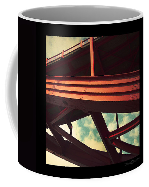 Bridge Coffee Mug featuring the photograph Infrastructure by Tim Nyberg