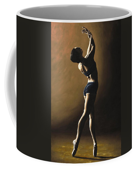Dance Coffee Mug featuring the painting Inner Sanctuary by Richard Young