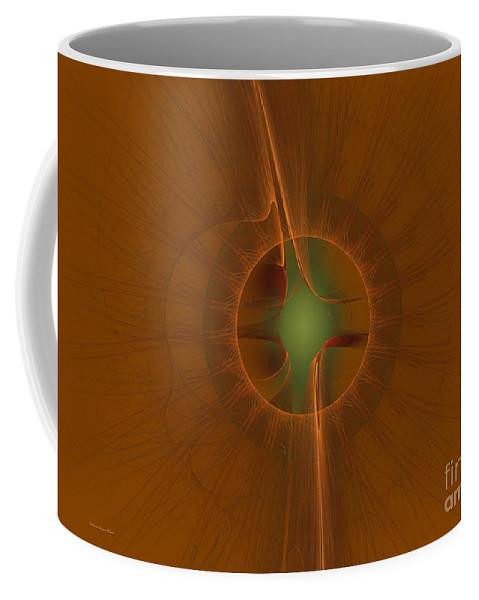 Digital Coffee Mug featuring the digital art Inner Sanctum by Deborah Benoit