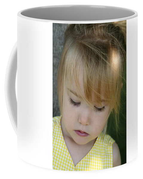 Angelic Coffee Mug featuring the photograph Innocence II by Margie Wildblood