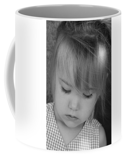 Angelic Coffee Mug featuring the photograph Innocence by Margie Wildblood