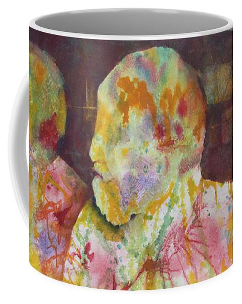 Innocent Coffee Mug featuring the painting Innocent Bystanders by Melanie Harman