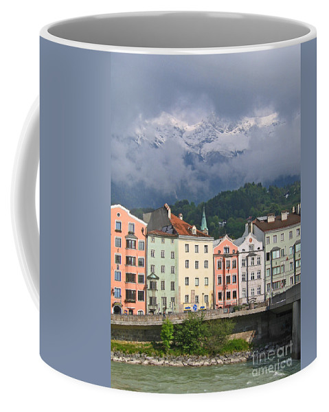Innsbruck Coffee Mug featuring the photograph Innsbruck by Ann Horn