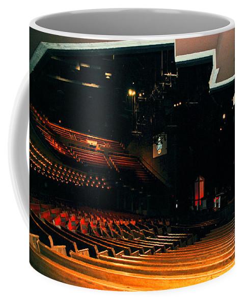 Nashville Coffee Mug featuring the photograph Inside Grand Ole Opry Nashville by Susanne Van Hulst