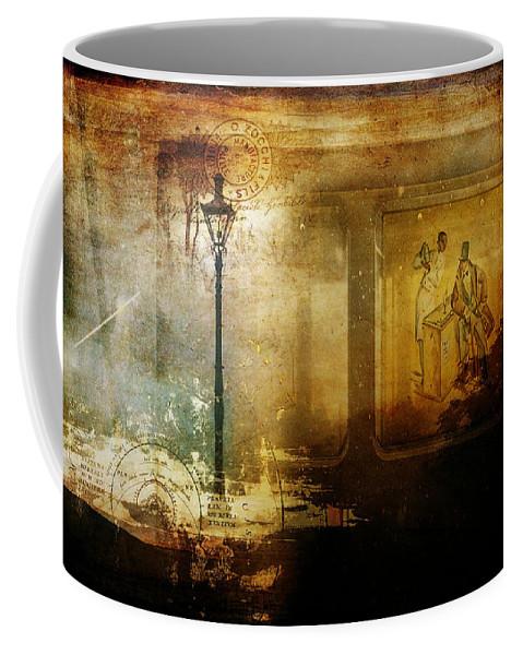 Inside Where It's Warm Coffee Mug featuring the photograph Inside Where It's Warm by Bellesouth Studio