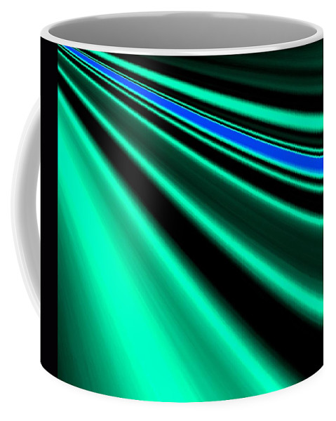 Abstract Coffee Mug featuring the digital art Inspiration by Will Borden