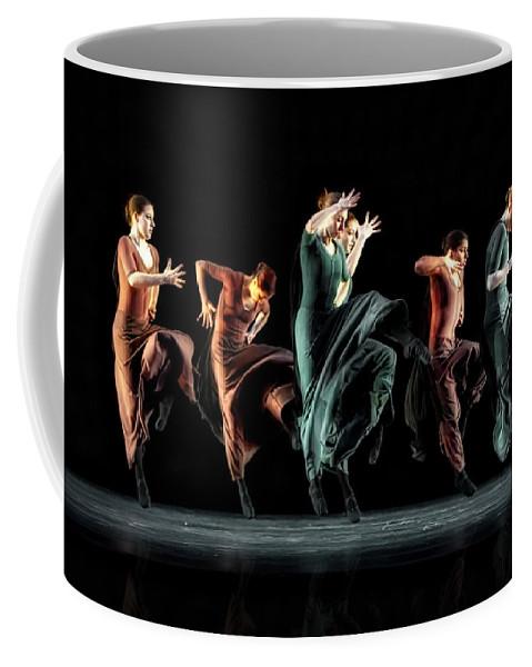 Dance Coffee Mug featuring the photograph Fierce In Color by Jackie Sajewski