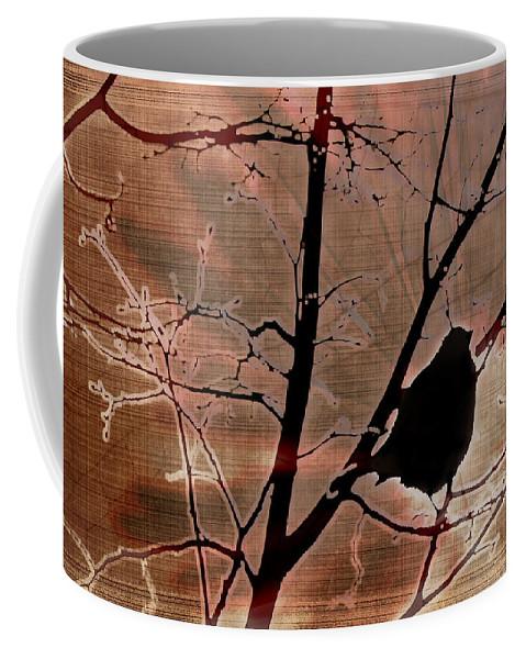Tree Coffee Mug featuring the photograph Interconnection by Lauren Radke