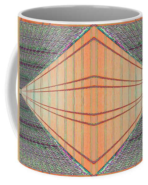 Architecture Coffee Mug featuring the photograph Intersect by Tim Allen