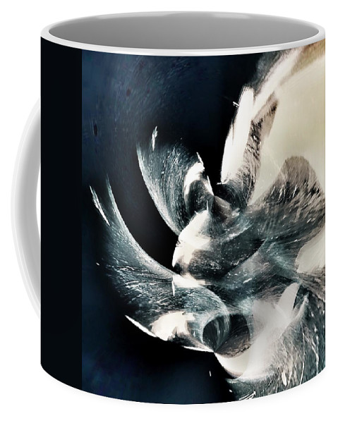 Cosmic Coffee Mug featuring the painting Interstellar by Philip Openshaw