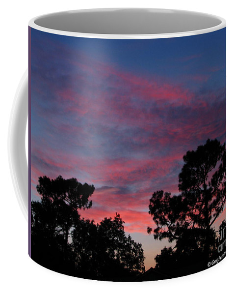 Sunsets Coffee Mug featuring the photograph Into Night by Greg Patzer