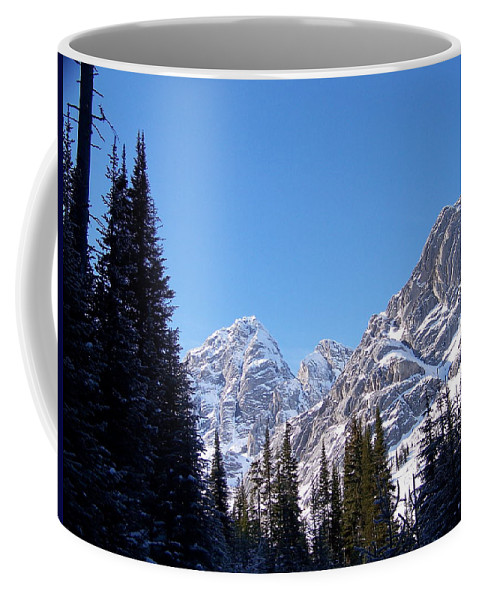 Scenic Coffee Mug featuring the photograph Into The Light by Greg Hammond