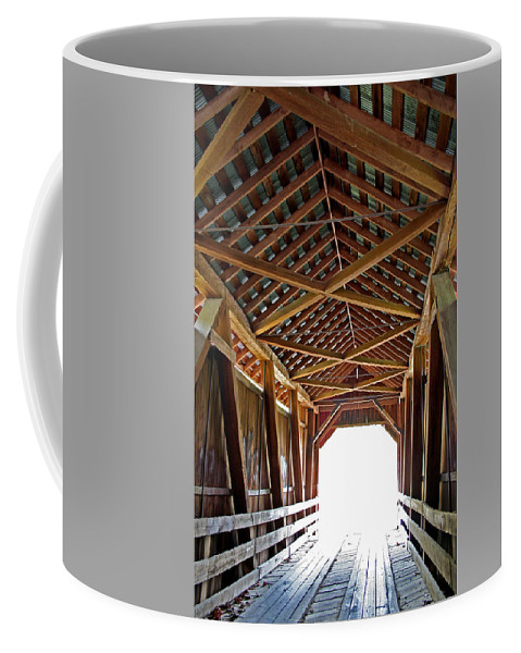 Light Coffee Mug featuring the photograph Into The Light by Margie Wildblood