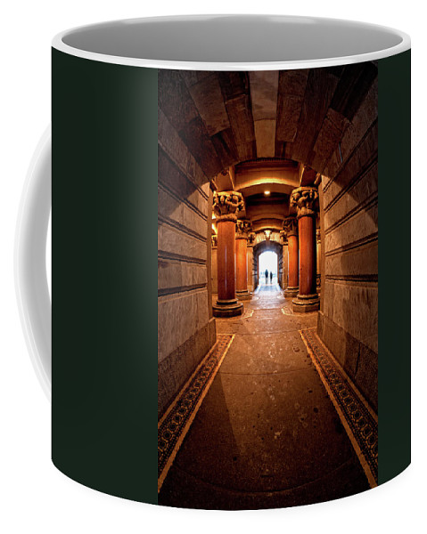 Philadelphia Coffee Mug featuring the photograph Into The Light by Neil Shapiro