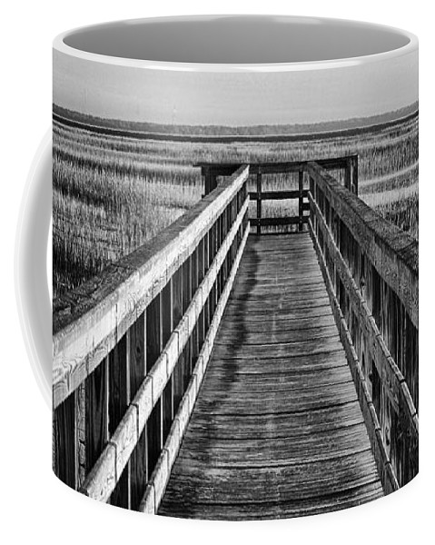 Beaufort County Coffee Mug featuring the photograph Into The Marsh by Phill Doherty