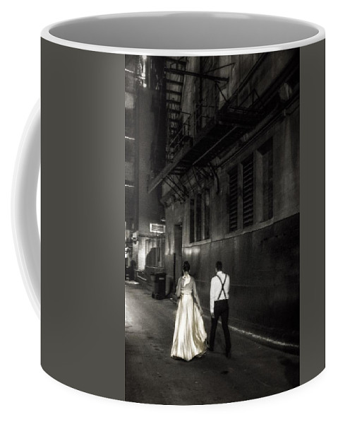 Coffee Mug featuring the photograph Into The Night by Tony HUTSON