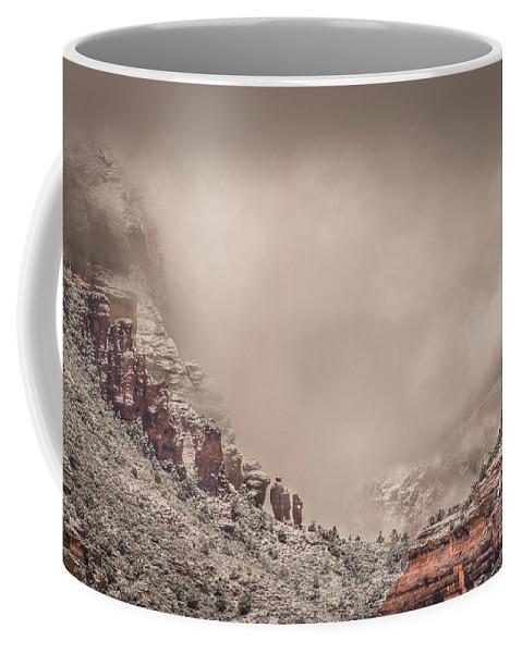 Boynton Canyon Coffee Mug featuring the photograph Into The Void by Racheal Christian