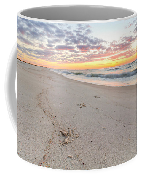 Clouds Coffee Mug featuring the photograph Into The Waves by Gary Oliver