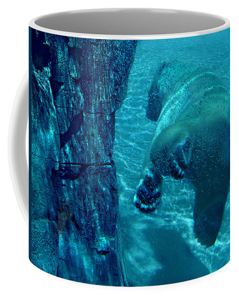 Coffee Mug featuring the photograph Into The Wild Blue by Steve Karol