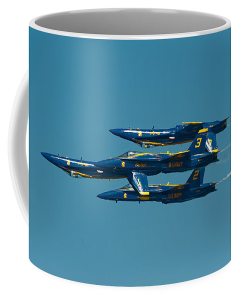 Us Navy Coffee Mug featuring the photograph Inverted by Sebastian Musial