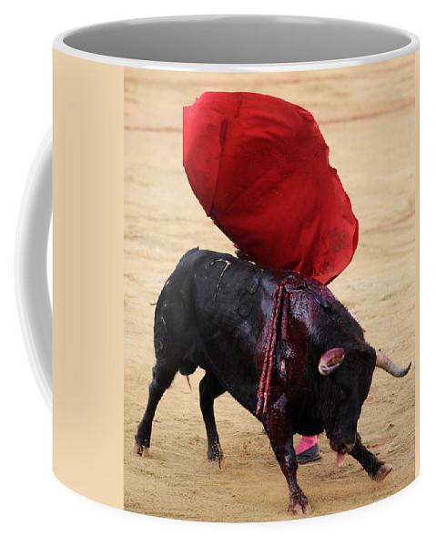 Spain Coffee Mug featuring the photograph Invisible Matador by Rafa Rivas